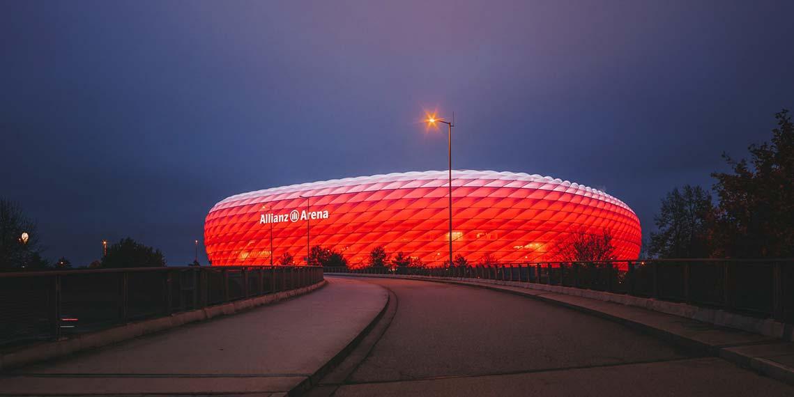 bookmaker Allianz arena bundesliga